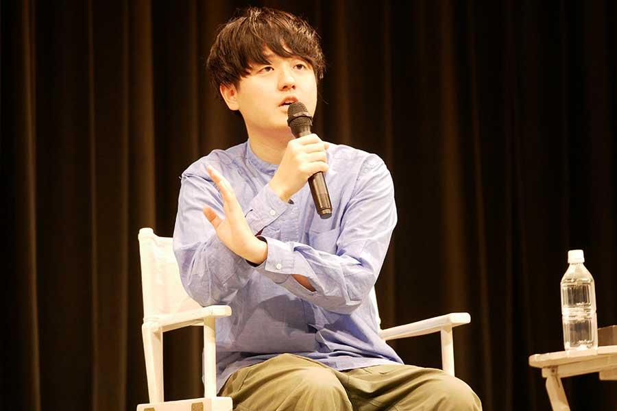 「くまもと復興映画祭2019」に出席した奥山監督