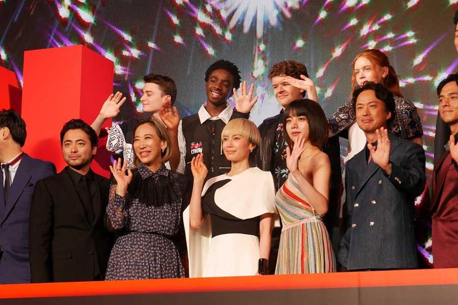 6月25日に行われた「Netflixオリジナル作品祭」