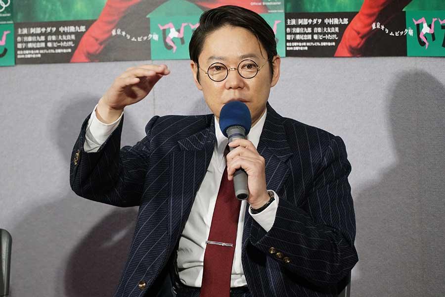 阿部サダヲは新聞記者役