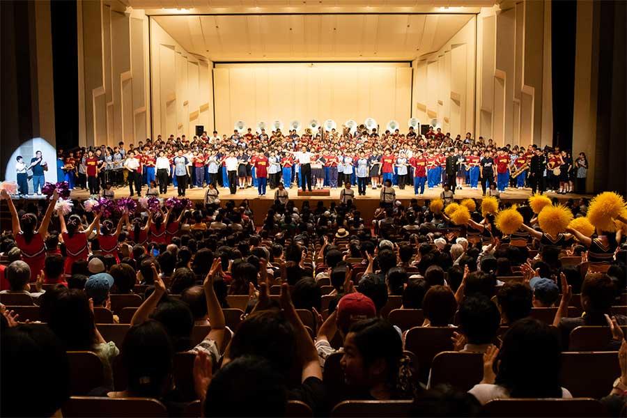 「ブラバン!甲子園ライブ2019」は盛大に行われた【写真提供:キョードー東京】