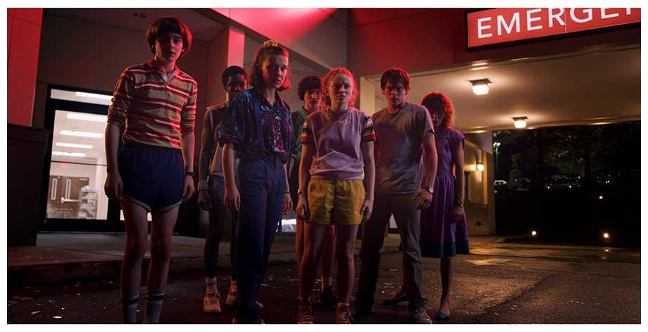 Netflixオリジナルシリーズ「ストレンジャー・シングス 未知の世界」シーズン1~シーズン2独占配信中 シーズン3は7月4日より配信開始