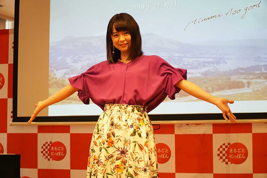 """AKB48の倉野尾成美が地元・南阿蘇の""""インスタ映え""""するおしゃれカフェを紹介"""