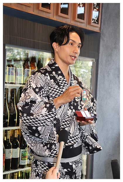 日本酒で割るレモンサワーを開発