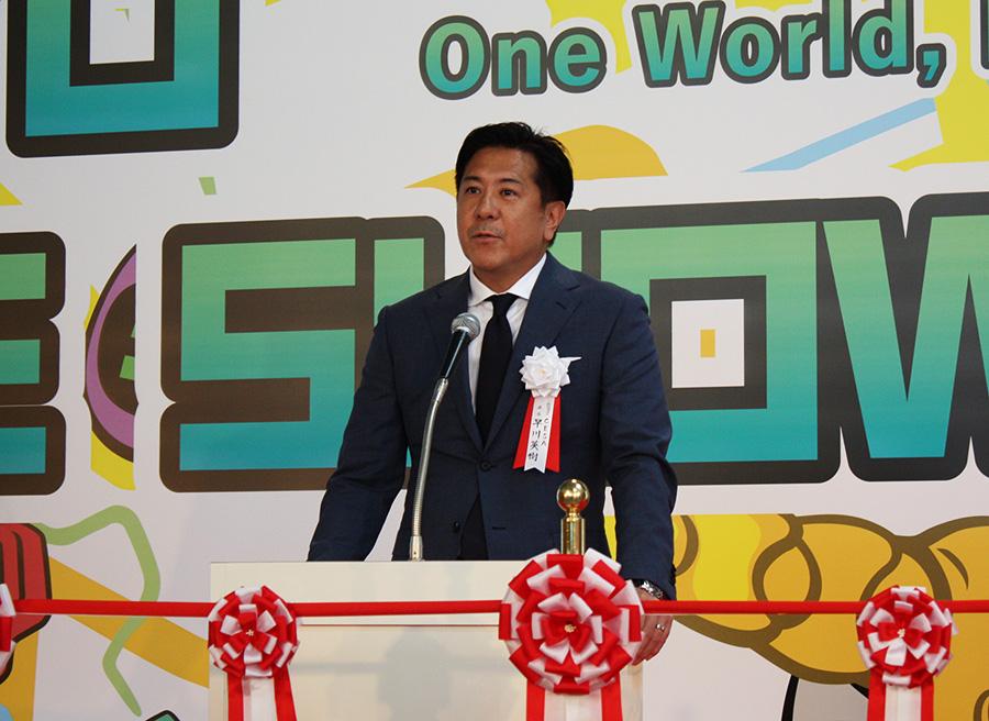 CESA早川英樹会長による開会挨拶