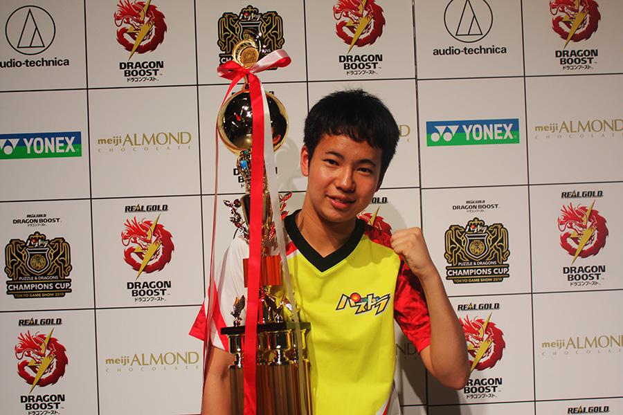 最年少でプロ大会優勝を果たしたゆわ選手