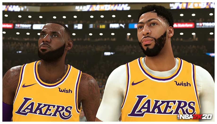 「NBA 2K20」のリアリティーはハンパない (C) 2005-2019 Take-Two Interactive Software, Inc. and its subsidiaries. 2K, the 2K logo, are all trademarks and/or registered trademarks of Take-Two Interactive Software, Inc. (C) 2019 NBA Properties, Inc. All Rights Reserved. Officially licensed product of the National Basketball Players Association.