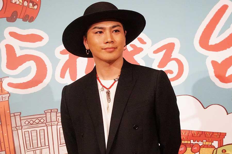 台北市観光大使に就任した「三代目 J SOUL BROTHERS」登坂広臣
