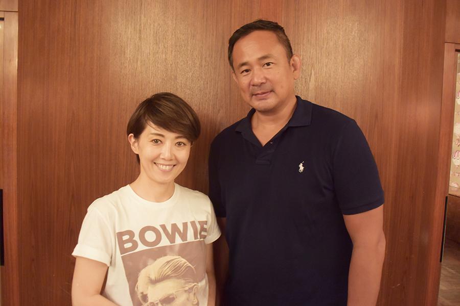 ギール里映氏(左)と西村修
