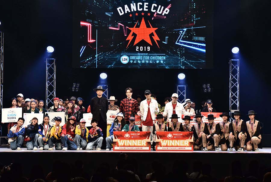 EXILEのUSAらが日本一のキッズダンサーに熱いエール「夢や目標を大切にして」