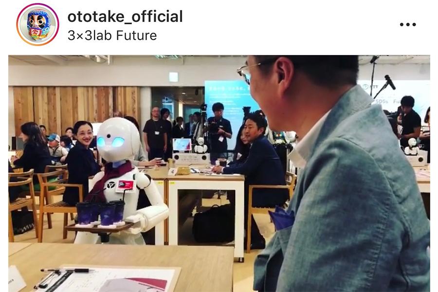 乙武洋匡 期間限定で都内にオープン「分身ロボットカフェ DAWN」を絶賛