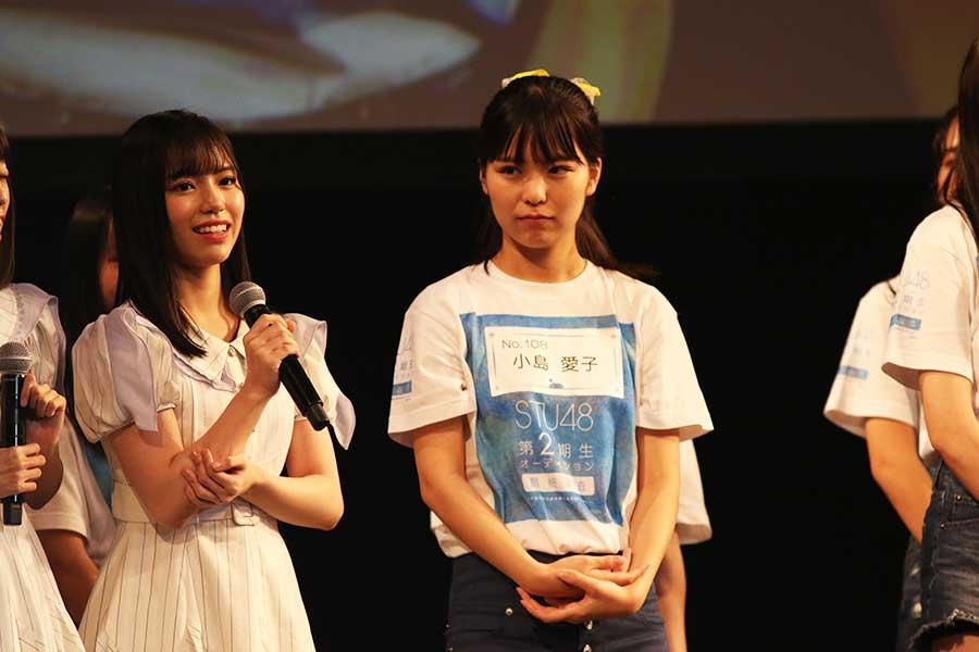 得票数1位に輝いた小島愛子(中央)