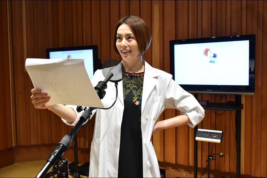 米倉涼子がアニメアフレコ初挑戦「緊張して変な汗をかきました」しんちゃんと合体