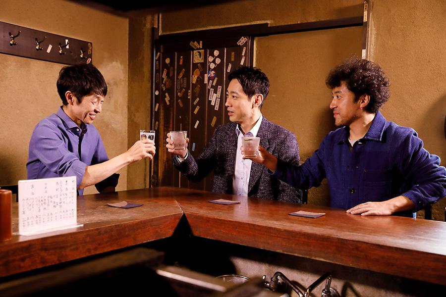 京都では武豊(左)と意気投合した(C)フジテレビ