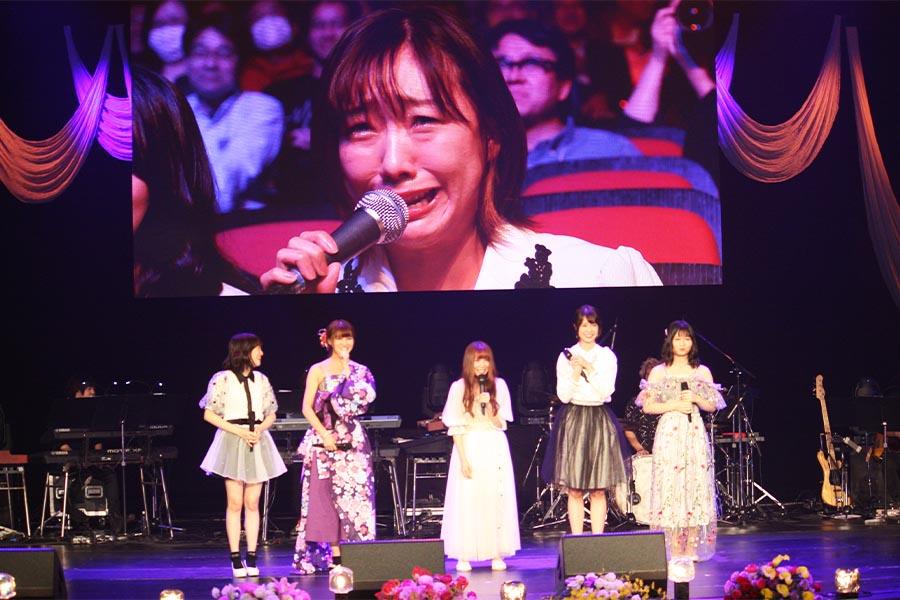 高柳の熱唱に涙を流したSKE48須田亜香里