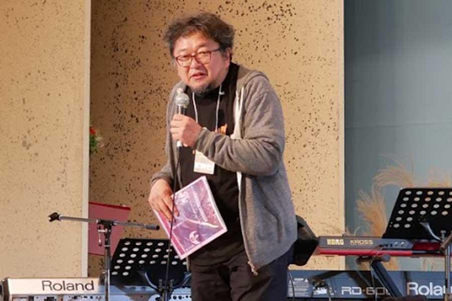 サプライズ登場した樋口真嗣監督