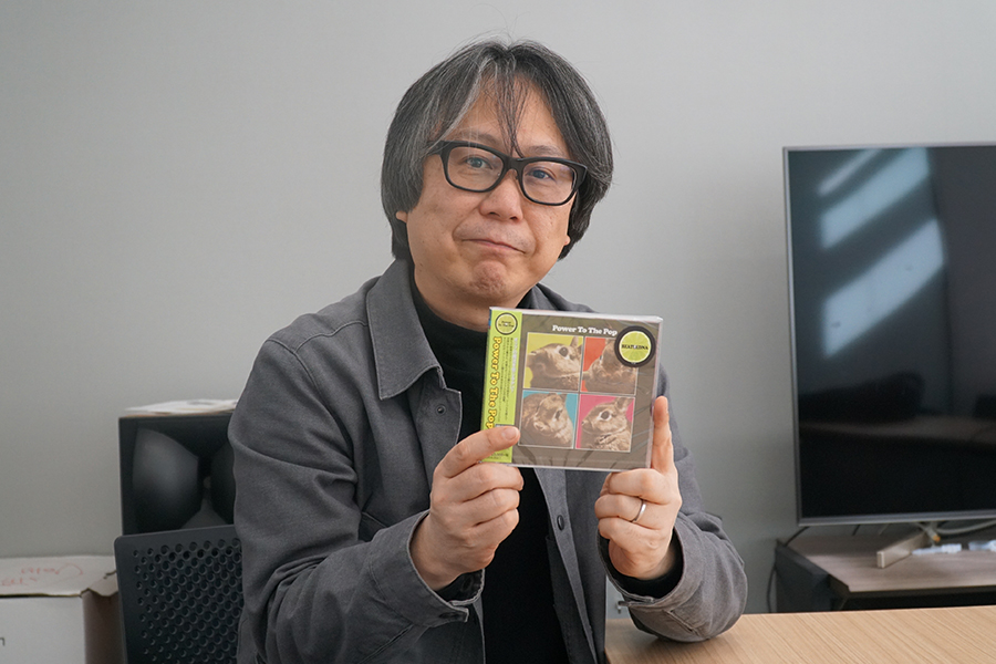 「Power To The Pop」を制作したソニー・ミュージック白木哲也さん
