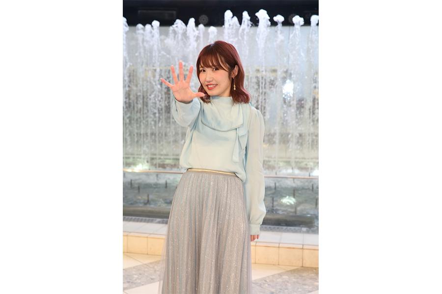 内田彩は「変わらない笑顔を共有していけたら」と語った