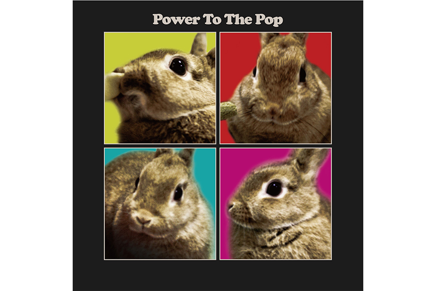 『Power To The Pop』のジャケット写真。DNAがここにも詰まっている