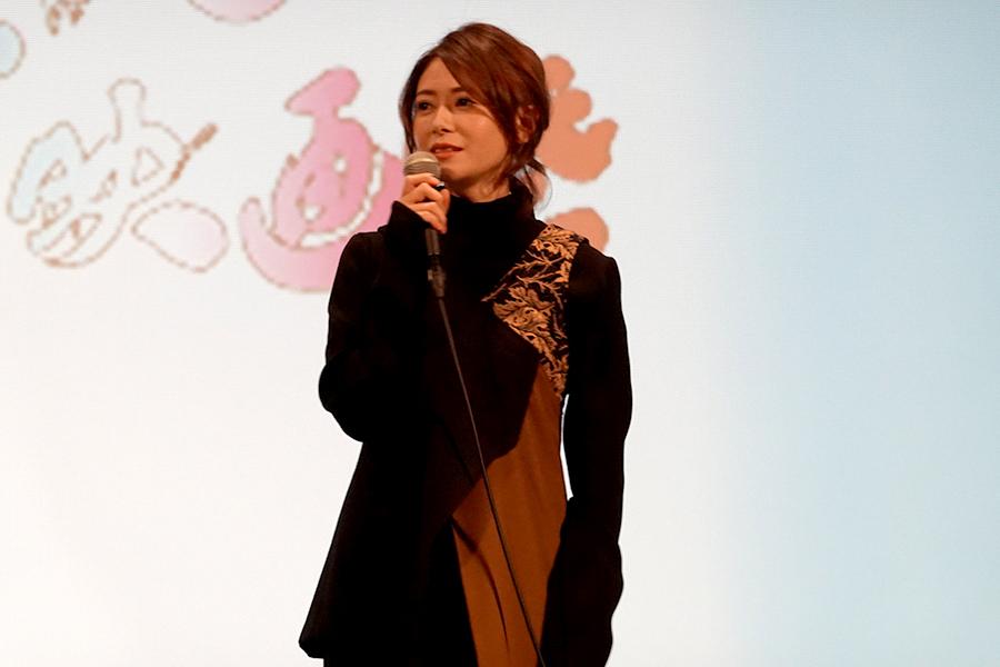 第3回Beppuブルーバード映画祭に登壇した真木よう子