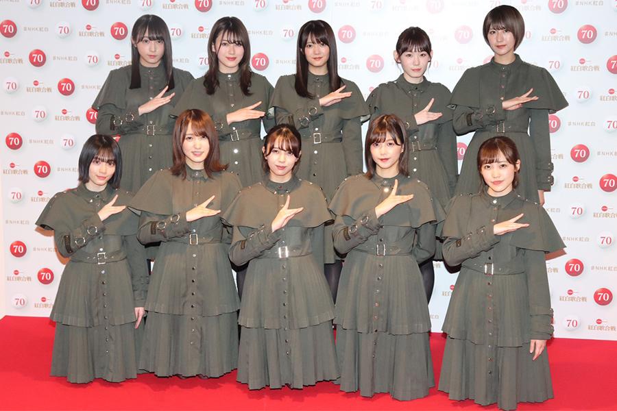 紅白出場は4回目となる欅坂46