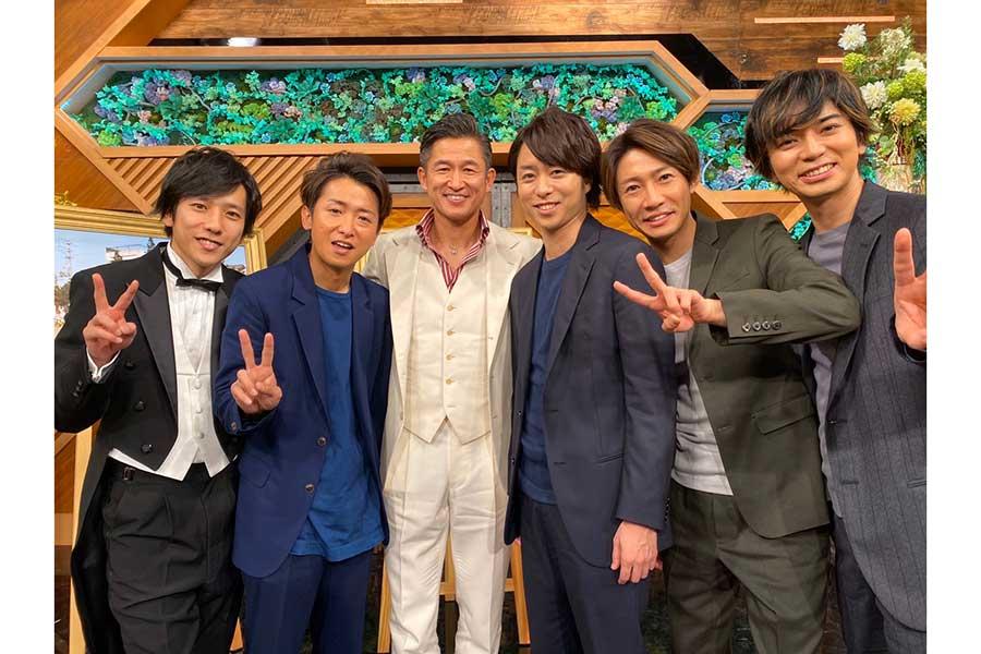 日テレ「TOKIO 嵐」にキングカズが登場!1998年W杯落選の舞台裏を語る