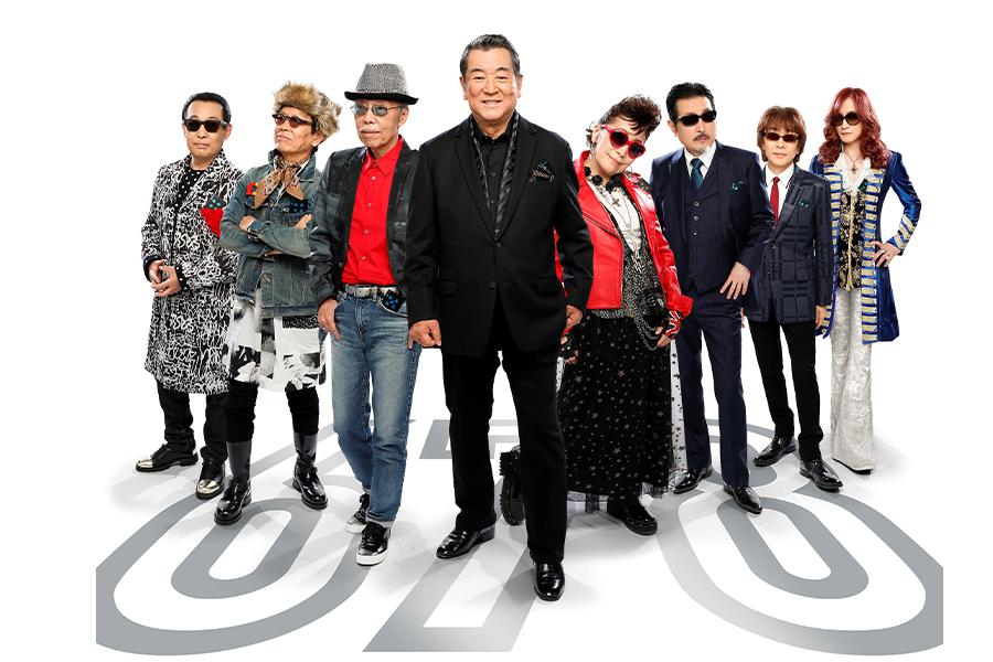 豪華すぎるメンバー、その名も加山雄三&The Rock Chippers