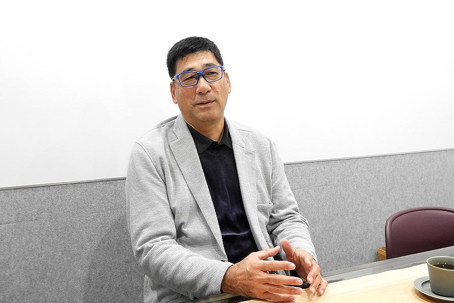 「楽しいことをやっていきたい」と語る駒田徳広さん