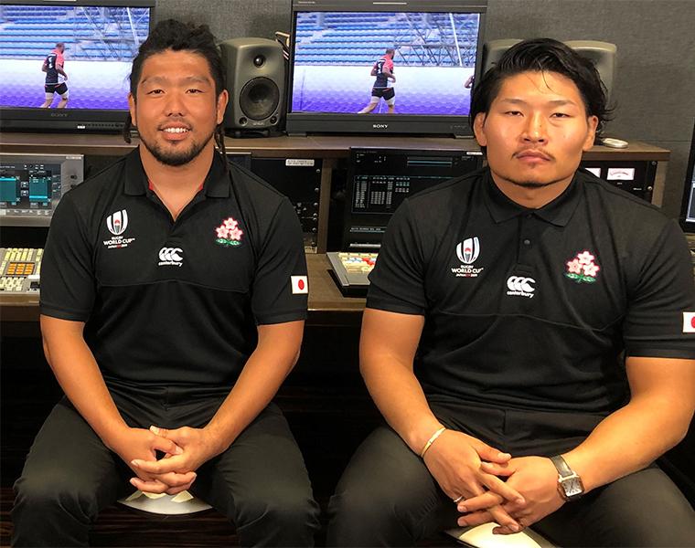 「笑わない男」稲垣啓太はラグビー界の「オシャレ番長」代表選手の秘蔵映像を一挙公開