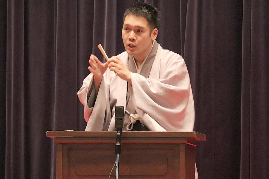 講談師の神田松之丞