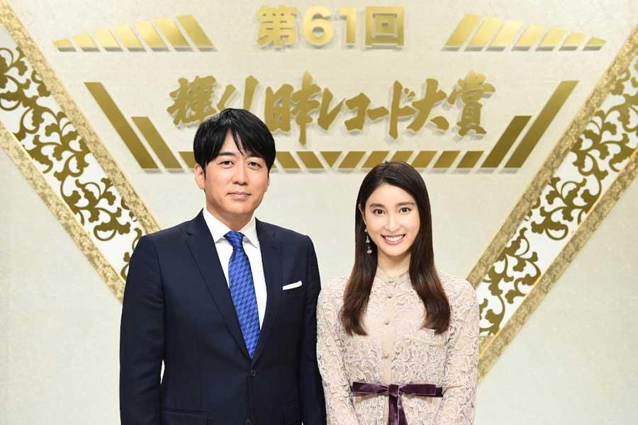 「レコ大」の司会に決まった安住アナ&土屋太鳳(C)TBS