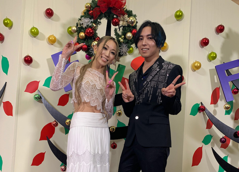 倖田來未と蒼井翔太