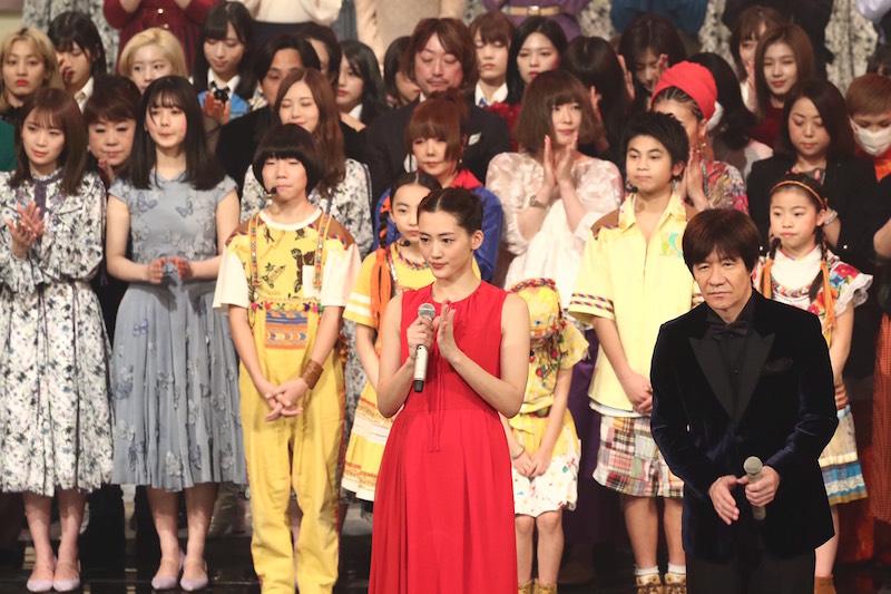 30日にはリハーサルで出演者の顔合わせが行われた【写真:山口比佐夫】
