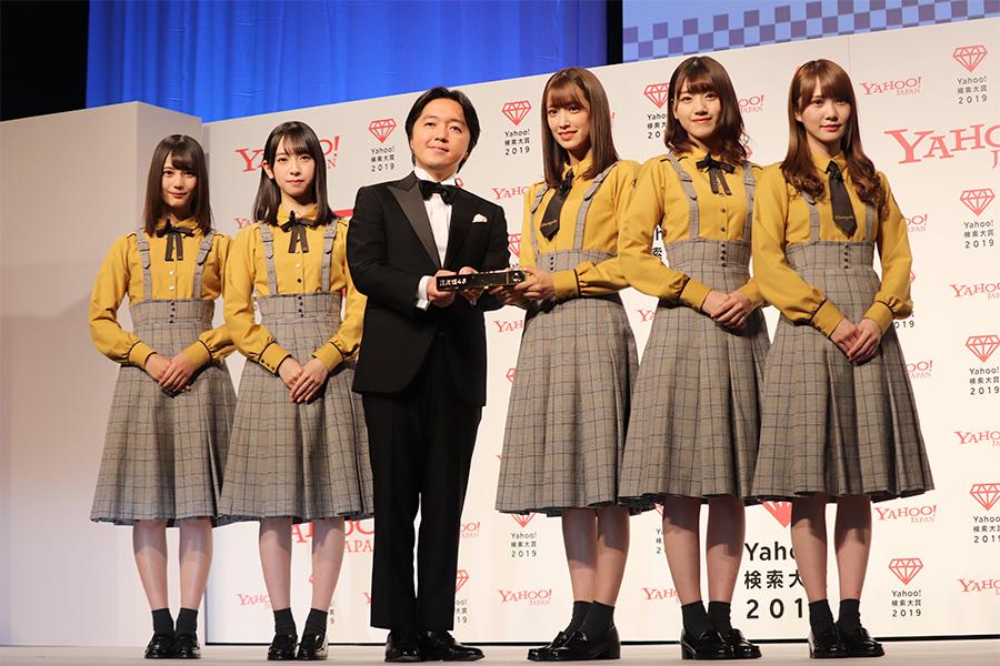 """日向坂46が「Yahoo!検索大賞」アイドル部門受賞 初の紅白へ明かした""""作戦""""は…"""