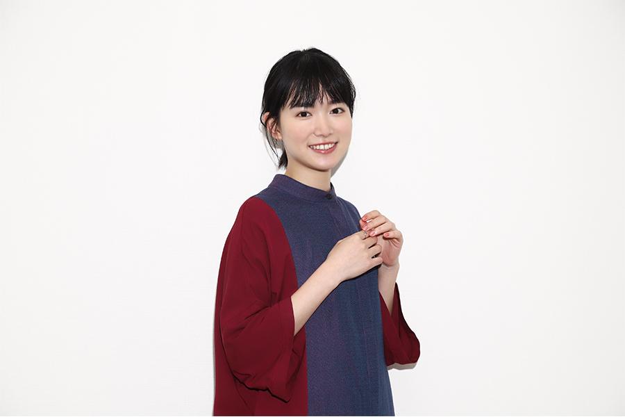女優としての成長や抱負について語った小川紗良【写真:山口比佐夫】