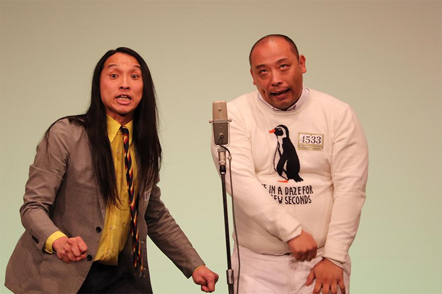 トム・ブラウンの布川ひろき(左)とその相方みちお【写真:ENCOUNT編集部】