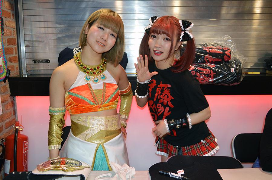 東京女子プロレス坂崎ユカ&伊藤麻希が英国上陸!「日本の100倍盛り上がりました! 」