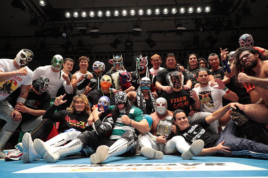 10年連続10回目のツアーを終えた新日本プロレスによるルチャリブレとのコラボ大会【写真提供:NJPW】
