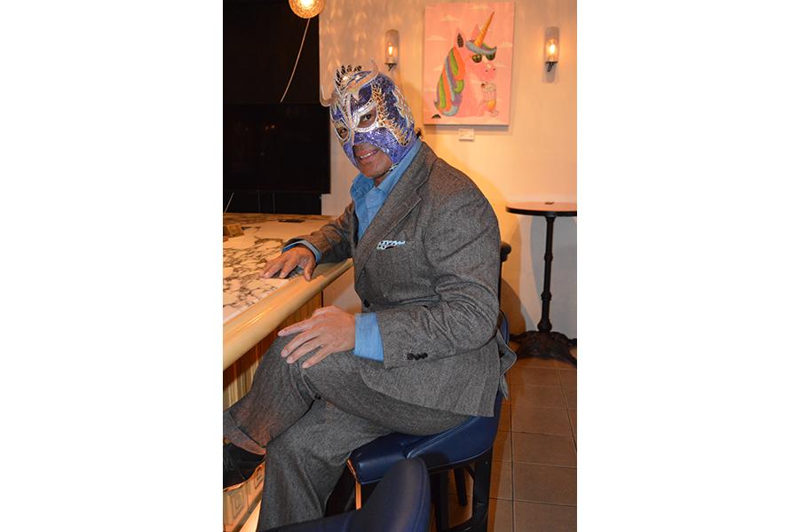 1月31日に同窓会を開催するウルティモ・ドラゴン 【写真提供:新井宏】