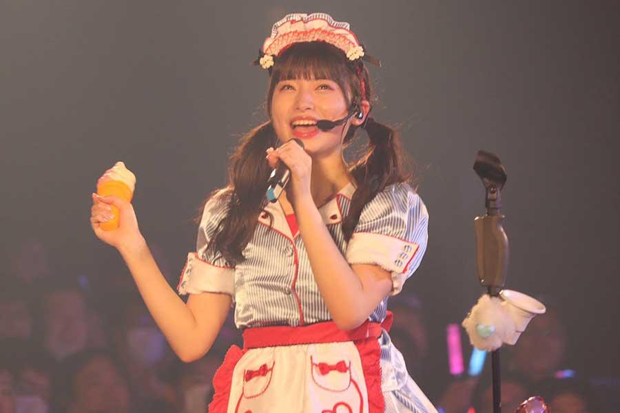 ソロコンサートは初めてのAKB48 TeamB久保怜音