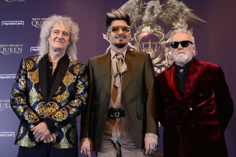 日本公演を行っているクイーン+アダム・ランバート【写真:Getty Images】