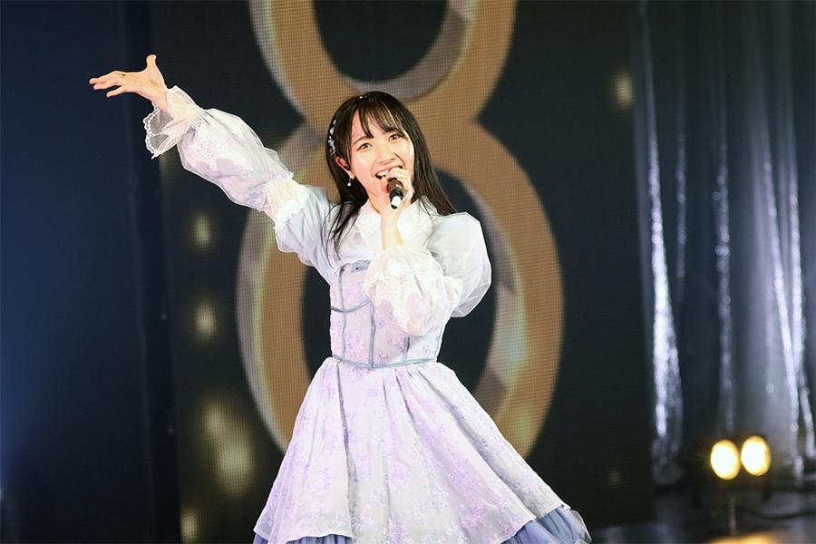 ソロコンサートを開催したSTU48石田千穂
