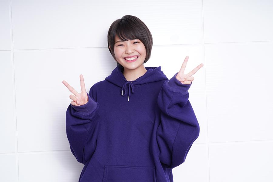 三阪咲は同世代の支持を集めている【写真:山口比佐夫】