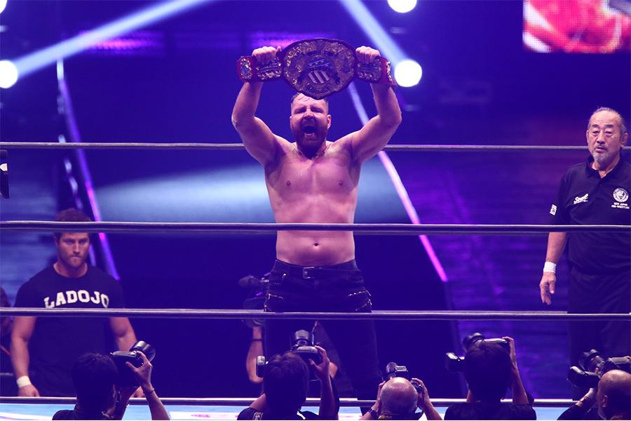 IWGP USヘビー級王座はジョン・モクスリーが接戦を制す!