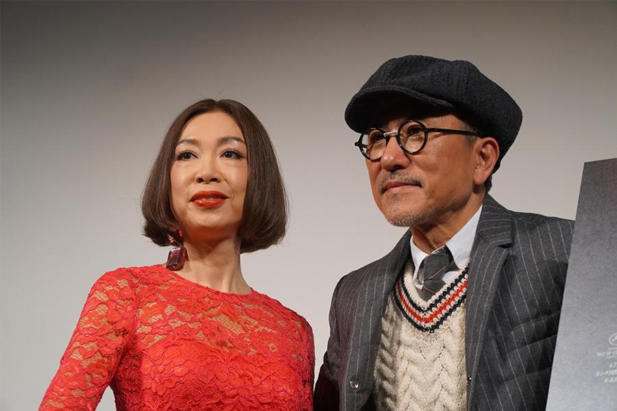映画「男と女 人生最良の日々」のトークイベントに出演した野宮真貴、高橋幸宏