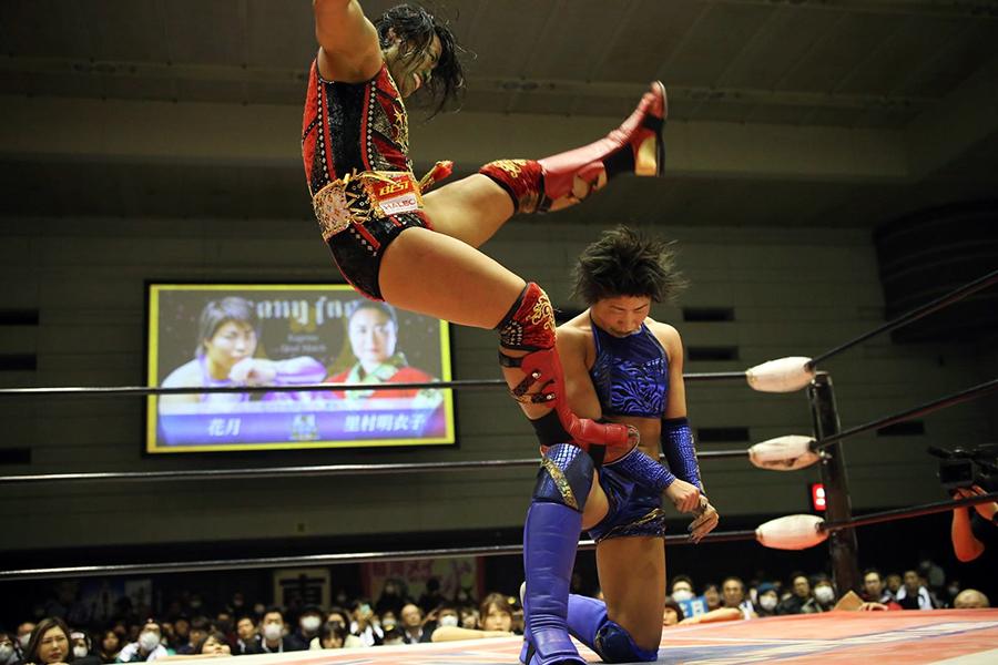 女子プロレス・花月引退試合で里村明衣子が愛弟子にラストメッセージ