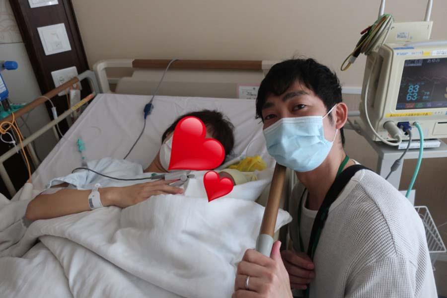 ノンスタイル石田、「父ちゃん感動」第3子女児誕生をブログ報告