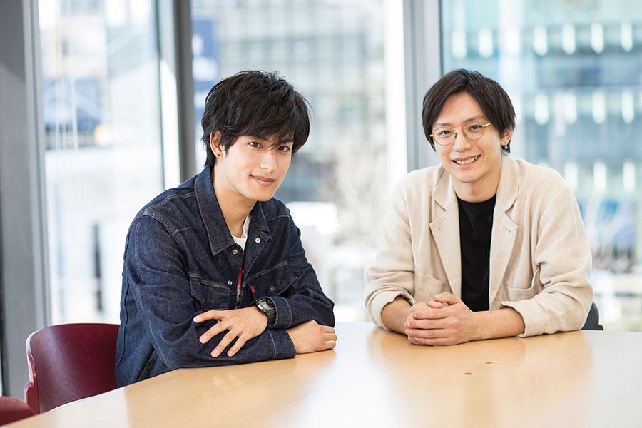 「2.5次元」作品で活躍する久保田秀敏と武子直樹 舞台演劇は「現実の動きよりも大きく表現」