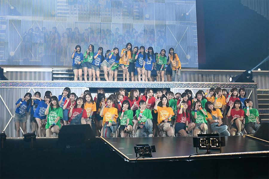 静岡エコパアリーナで昼夜公演を開催したSKE48 (C)2020 Zest,Inc.