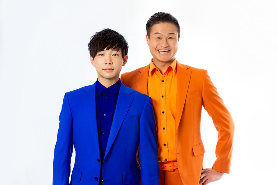「ティモンディ」の高岸宏行(右)と前田裕太