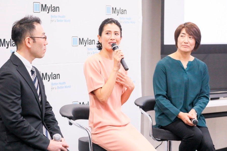 長谷川理恵、長男の食物アレルギー発症について語る「ヨーグルトを一口食べたら咳が出始め…」